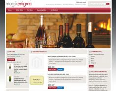 Magik Enigma is a Magento theme specifically built for stores that are selling different types of wines and other related products. You can download and get the Magento theme up and ready on your site very quickly.
