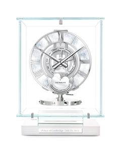A perfect gift for the #RoyalBaby: an #Atmos clock which celebrates the birth of a child. A gift that's set to last a lifetime.