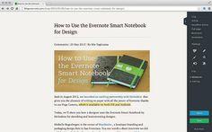 f:id:dobonkai:20140329223515p:plain Evernote, Chromebook, Being Used, Design