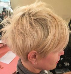 Idées Coupe cheveux Pour Femme  2017 / 2018   50 Edgy Shaggy Messy Spiky Coupes Pixie Choppy