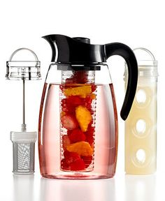 Primula Infuser Pitcher, Flavor It 3-in-1 Beverage System - Coffee & Espresso - Kitchen - Macy's