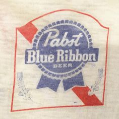 80's thin pabst t shirt in our SF shop