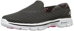 Skechers Damen Go Walk 3, Women's Low-Top Sneakers, Black (Black/White (Bkw)), Einheitsgröße - http://on-line-kaufen.de/skechers/einheitsgroesse-skechers-go-walk-3-damen