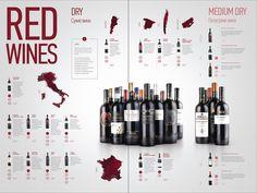 Wine menu | cafe DelVino on Behance