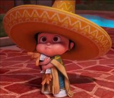 "Despicable Me 2:  Little Agnes, ""Don't go crazy with the churros."" LOVED THE MOVIE!"