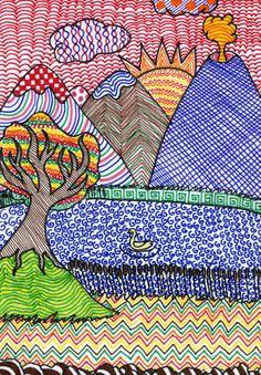 Kadariku kunstitunnid | Graafiline perspektiiv ja sügisesed värvid