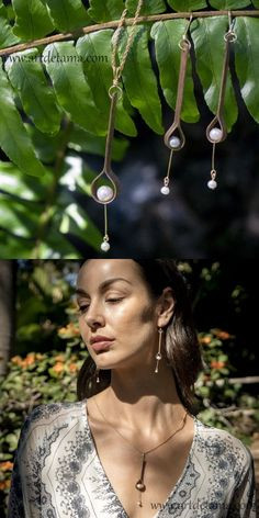 Japanese artist creates wearable art that brings inner peace and calmness. Her designs are quiet and minimalist. Each piece is individually handcrafted. Artisan Jewelry, Handcrafted Jewelry, Earrings Handmade, Big Earrings, Wood Earrings, Tama, Delicate Jewelry, Japanese Artists, Jewelry Design