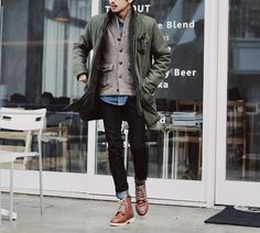 im ready for fall // layers and boots