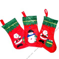 3Random Christmas Decoration Gift Bag Candy Bag Christmas Stockings