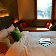 ibis Styles Ambassador Seoul Gangnam / Staycation in the City / Superior Double Room / something special /   이비스 스타일 앰배서더 서울 강남 / 도심 속 빛의 휴식처