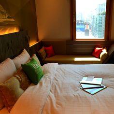 ibis Styles Ambassador Seoul Gangnam / Staycation in the City / Superior Double Room / something special /   이비스 스타일 앰배서더 서울 강남 / 도심 속 빛의 휴식처