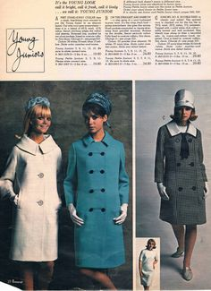 Penneys catalog 60s 1960s Fashion, Fashion Models, Fashion Show, Vintage Fashion, Vintage Clothing, Vintage Outfits, Colleen Corby, Vintage Style, Vintage Ladies