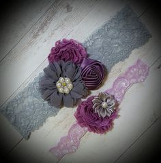 Check out this item in my Etsy shop https://www.etsy.com/listing/464594736/lavender-and-gray-wedding-gartergray-and