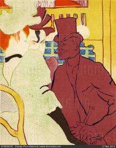 344926d7bc1 L Anglais Au Moulin Rouge 1892 Coloured Lithograph by Henri Marie Raymond de  Toulouse-Lautrec Monfa 1864-1901 French painter printmaker draftsman and ...