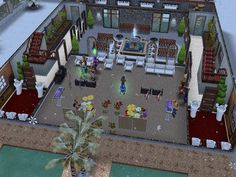Pandora's Lincoln Echo VI Hall The Sims FreePlay - game center ID fxavatar