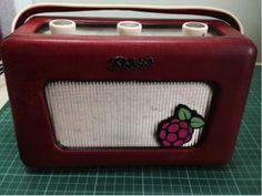 A beautifully refurbished Roberts radio, by Gordon of IQAudIO.
