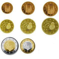 monedas euro serie España 2015