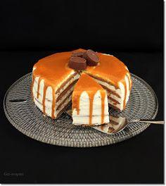 Gizi-receptjei. Várok mindenkit.: Sós karamellás mézeskalács torta.
