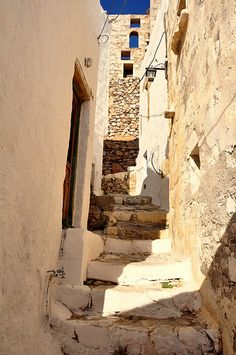 Chora, Astypalea by DarkB4Dawn, via Flickr