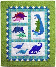 Dinosaur Quilt (PATTERNS)