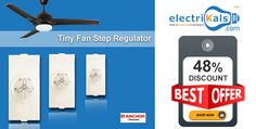 Exclusive offers on #Anchor #TinyFanStepRegulator | electrikals.com
