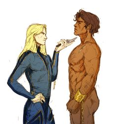 damen and laurent Character Art, Character Design, Captive Prince, Dragon Age Origins, Book Characters, Fictional Characters, Gay Comics, Drarry, Book Nerd