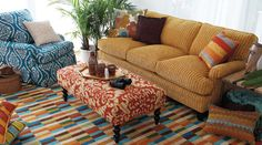 This is a great site custom made sofa, chairs, rugs any almost any fabric you can think of.