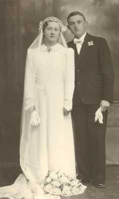 Johann Wenzel & Helene Jaeger - January 13, 1938  http://karlsdorfmemories.com/photos-weddings.html
