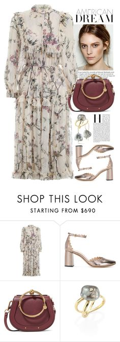 """Без названия #5057"" by catelinota-a ❤ liked on Polyvore featuring Zimmermann, Chloé and mizuki"