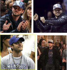 Memphis Grizzlies Fan Justin Timberlake