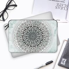 Iceland mandala- macbook sleeve