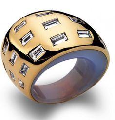 Vhernier bague Golden Jewelry, High Jewelry, Luxury Jewelry, Jewlery, Jewelry Bracelets, Rare Gems, Diamond Are A Girls Best Friend, Diamond Bands, Sparkles