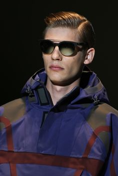 See detail photos for Gucci Spring 2014 Menswear collection.