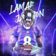 Nfl Football Helmets, Nfl Football Players, Best Football Team, Football Art, Giants Football, Seahawks Football, Seattle Seahawks, Lamar Jackson Wallpaper, Lamar Jackson Ravens