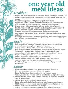 Master List of ALL the Food Ideas for 1 Year Old Babies All your questons about feeding a one year old answered with a master list of food ideas for 1 year old toddlers, including a printable sample daily menu. Toddler Menu, Healthy Toddler Meals, Toddler Snacks, Kids Meals, Baby Meals, Toddler Dinners, Toddler Stuff, One Year Old Foods, 1 Year Old Meals