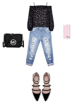 Untitled #21 by kkissfanni on Polyvore featuring River Island, Wet Seal, Zara, MICHAEL Michael Kors and Victoria's Secret