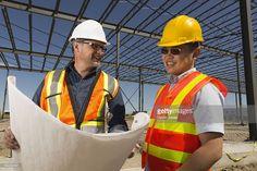 Stock Photo : Steel Frame Documents