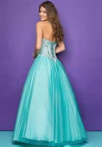 blue raindrop prom dress