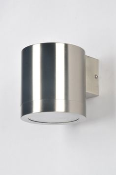 wandlamp 30107: modern, glas, helder glas, staal