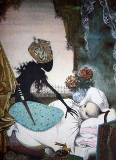 Illustrations for Hans Christian Andersons Fairy Tales By Jiri Trnka 1959