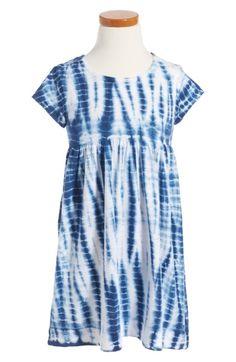 Main Image - Tucker + Tate Tie Dye Dress (Toddler Girls, Little Girls & Big Girls)
