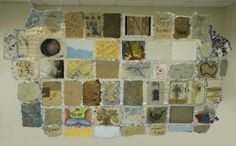 """Love: """"This collaborative project by Jane Ingram Allen and 42 artists from 38 different countries is one exhibition"""""""