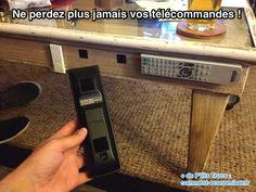 Une astuce pour ne plus perdre ses télécommandes et le retrouver facilement