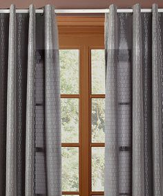 Take a look at this Silver Shadows Curtain Panel - Set of Two by Chic Home Design on #zulily today!