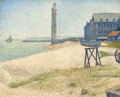 Le phare à Honfleur | LASKO