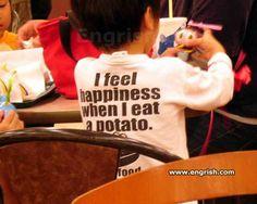 potato... Lol