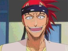 I laughed more than I should've xD Ichigo and Renji Grin by TaNa-Jo on DeviantArt