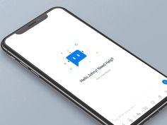 Medical app - Menu Interaction