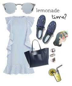"""""""Lemonade """" by pamelyas ❤ liked on Polyvore featuring Keds, Topshop, Sole Society and Oliver Peoples"""