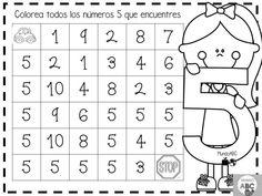 Geniales actividades para el trazo de los números del 1 al 5 para preescolar y primer grado de primaria   Material Educativo Kindergarten Math Worksheets, Worksheets For Kids, Math Activities, Preschool Activities, I Love Math, Fun Math, Maths, First Year Teachers, Teacher Binder